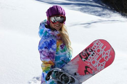 INTERVIEW WITH SNOWBOARDER STEPH HICKEY