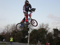 Laxey's Colin Clague is BMX star in making