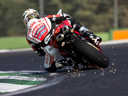Rumors of Australian Superbike champion Troy Bayliss squashed again